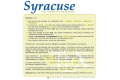 Syracuse : documents de JP VIGNAULT